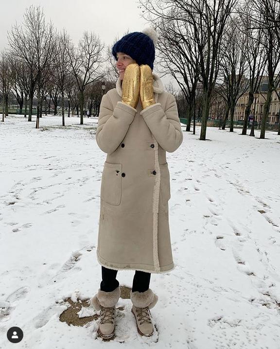 Наталья Водянова. Фото Скриншот Instagram: @natasupernova