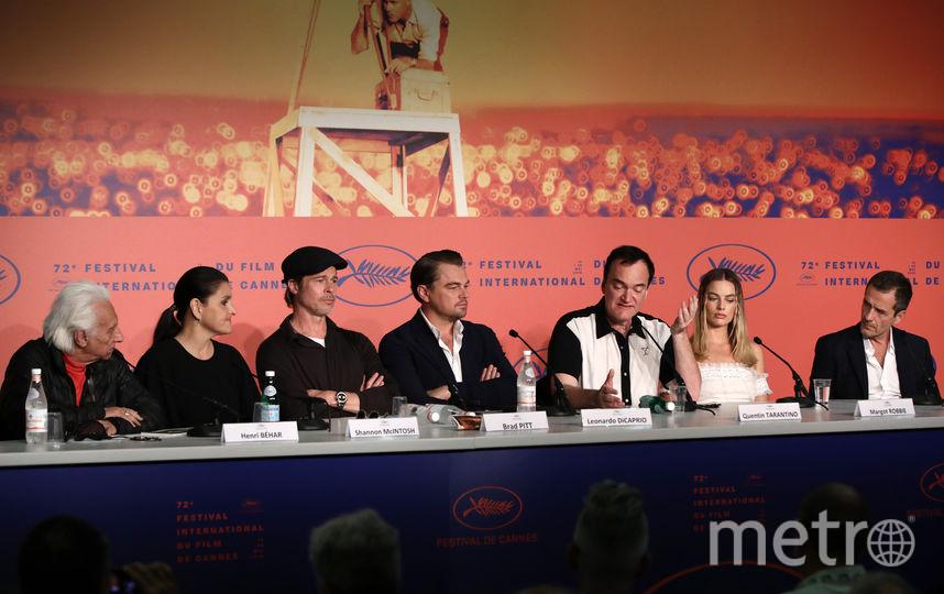 """Архив. Брэд Питт в Каннах на премьере """"Однажды в Голливуде"""". Фото Getty"""