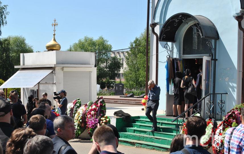 """Церковь, где прощались с Белянкиным. Фото Иван Тереховский, """"Metro"""""""