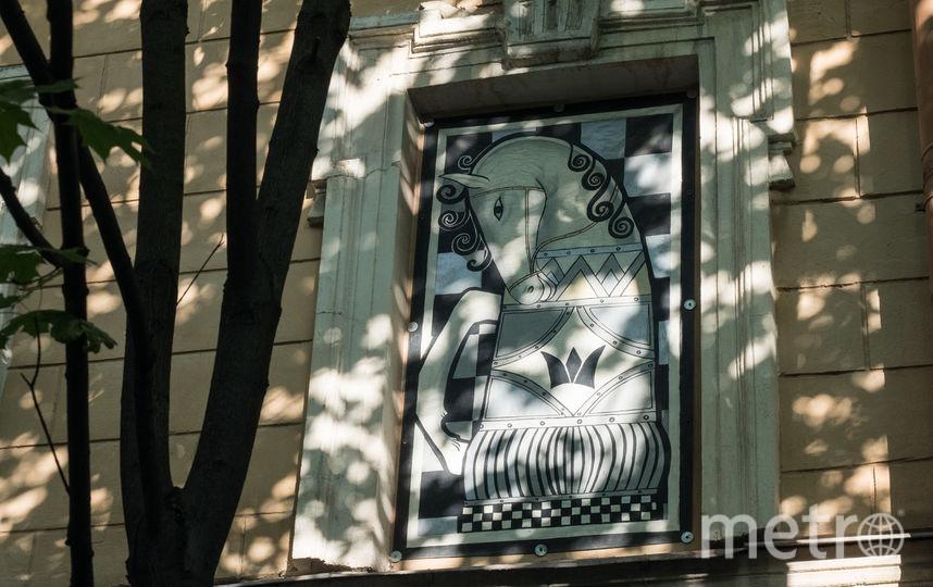 """Шахматный дворик. Фото Святослав Акимов, """"Metro"""""""