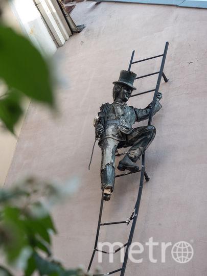 """Двор с трубочистом. Фото Святослав Акимов, """"Metro"""""""