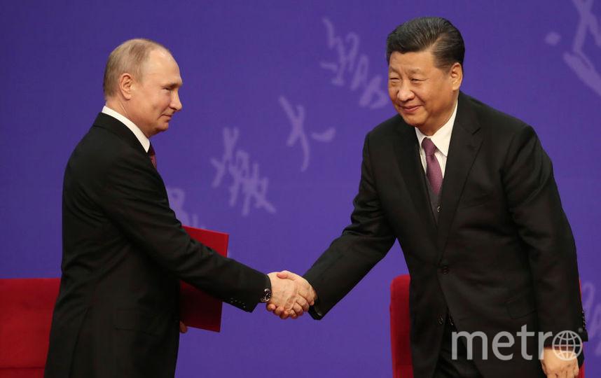 Путин и президент Китая. Фото архив, Getty