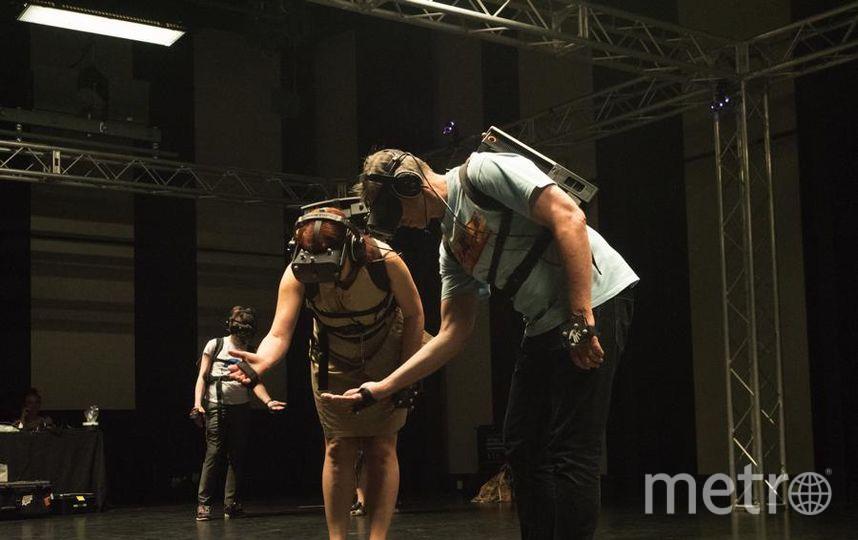 """С помощью VR-техно- логий переносишься в другой мир. Фото Святослав Акимов, """"Metro"""""""