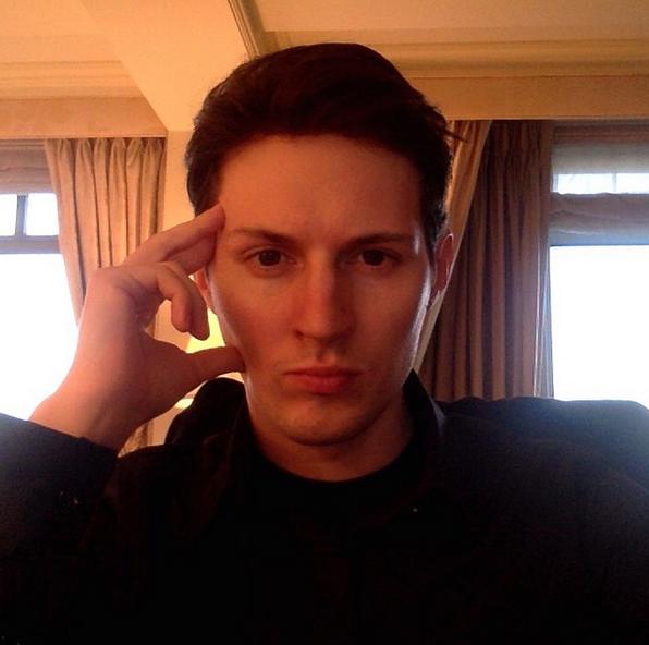 Павел Дуров. Фото скриншот: instagram.com/durov/
