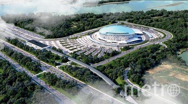 Вместимость основной арены составит 10500 зрителей.