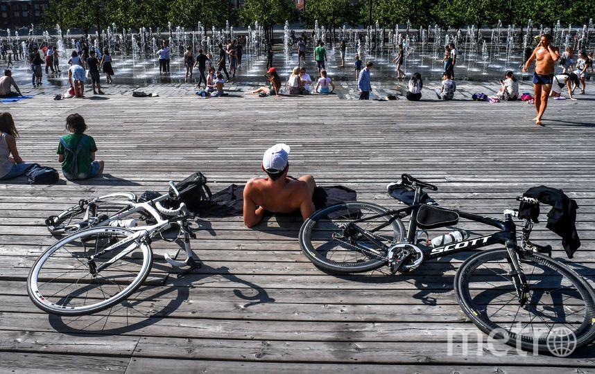Москвичи радуются лету. Фото AFP
