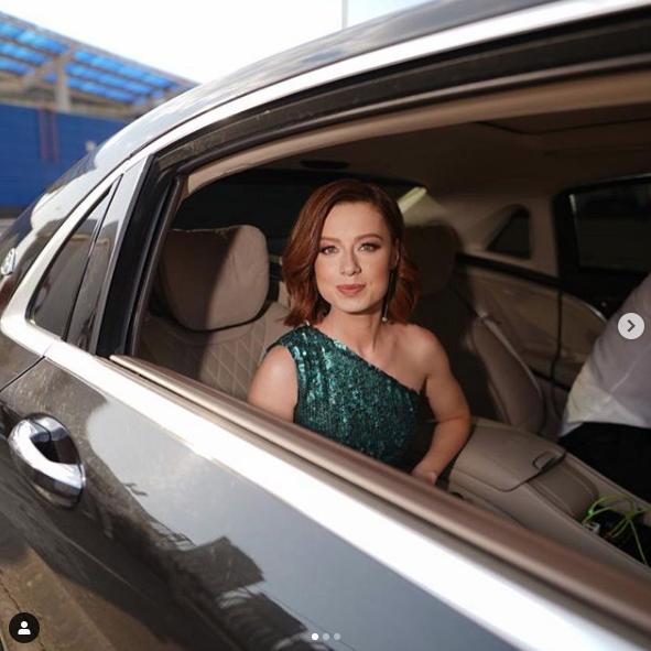 Юлия Савичева. Фото скриншот https://www.instagram.com/muztv/?hl=ru