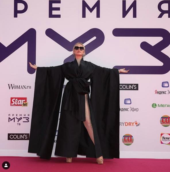 Маша Малиновская. Фото скриншот https://www.instagram.com/muztv/?hl=ru