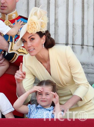 Принц Уильям, принцесса Шарлотта, Кейт Миддлтон. Фото Getty