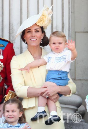 Кейт Миддлтон, принц Луи. Фото Getty