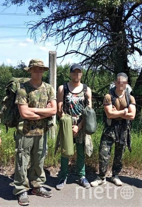 В Чернобыль не пустили троих сталкеров. Фото dpsu.gov.ua/