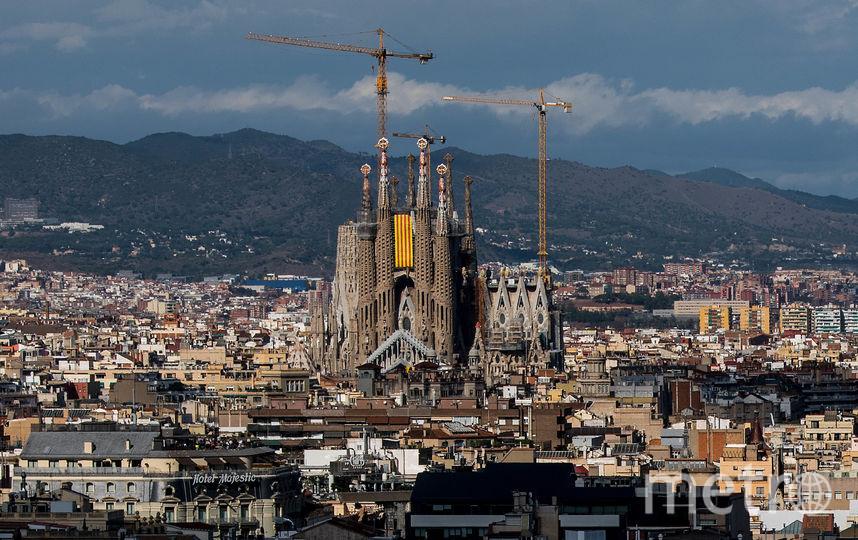 Храм Святого Семейства является одним из самых известных проектов архитектора Антонио Гауди. Фото Getty