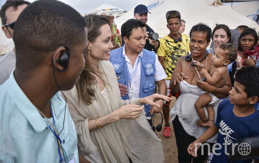 Руки Анджелины Джоли заставили ее фанатов переживать. Фото Getty