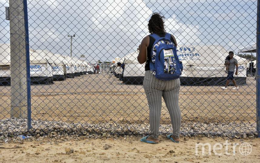 Лагерь беженцев. Фото Getty