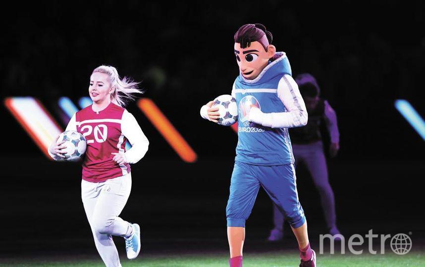 6 июня на Заячьем острове открылся Парк футбола Евро-2020. Фото Getty
