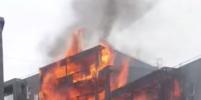 Крупный пожар в многоэтажном доме в Лондоне уничтожил 20 квартир