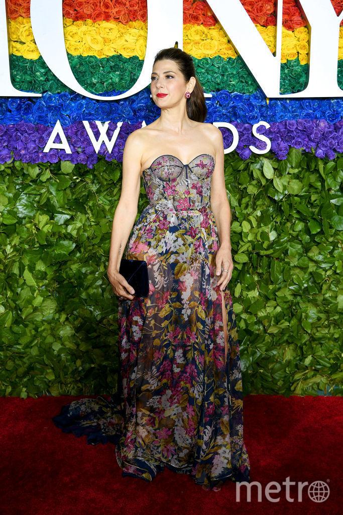 Tony Awards. Мариса Томей. Фото Getty