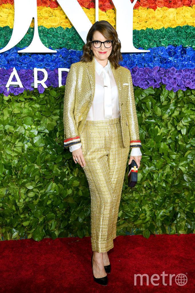 Tony Awards. Тина Фей. Фото Getty