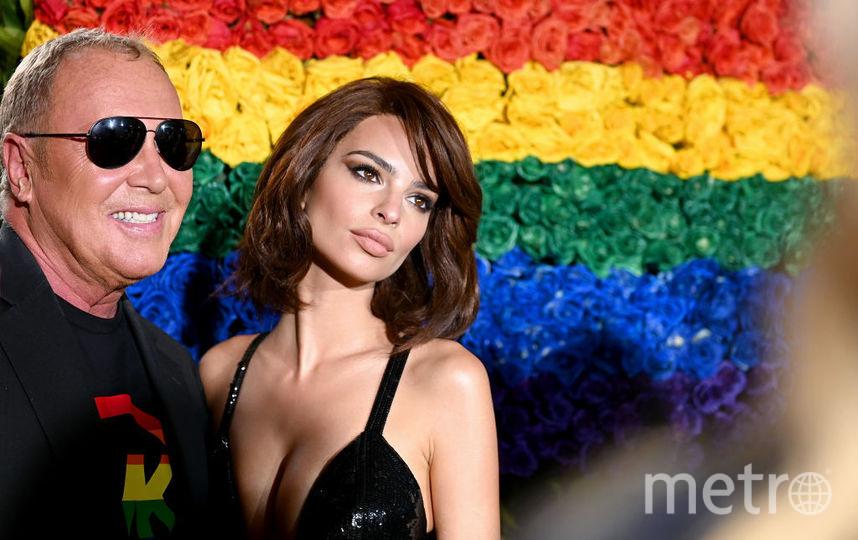 Tony Awards. Эмили Ратаковски и Майкл Корс. Фото Getty