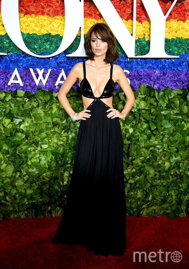 Tony Awards. Эмили Ратаковски. Фото Getty