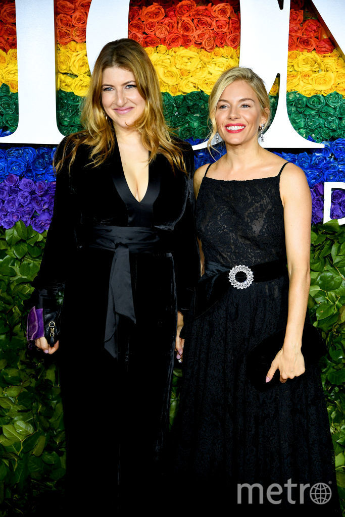 Tony Awards. Сиенна Миллер. Фото Getty