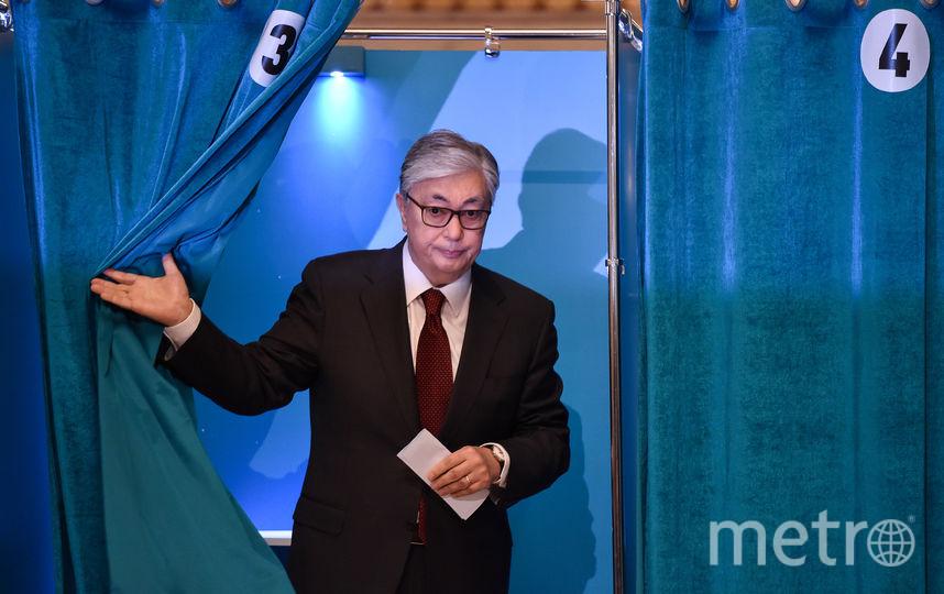 Касым-Жомарт Токаев. Фото AFP