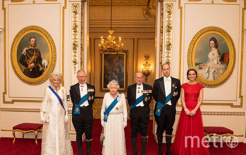 Британская королевская семья. Фото Getty