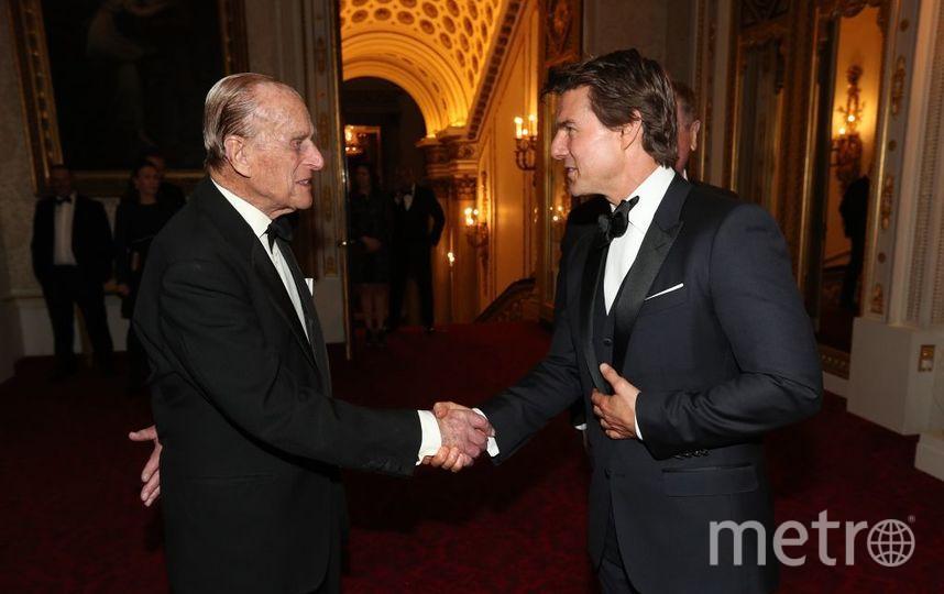 Принц Филипп и Том Круз. Фото Getty