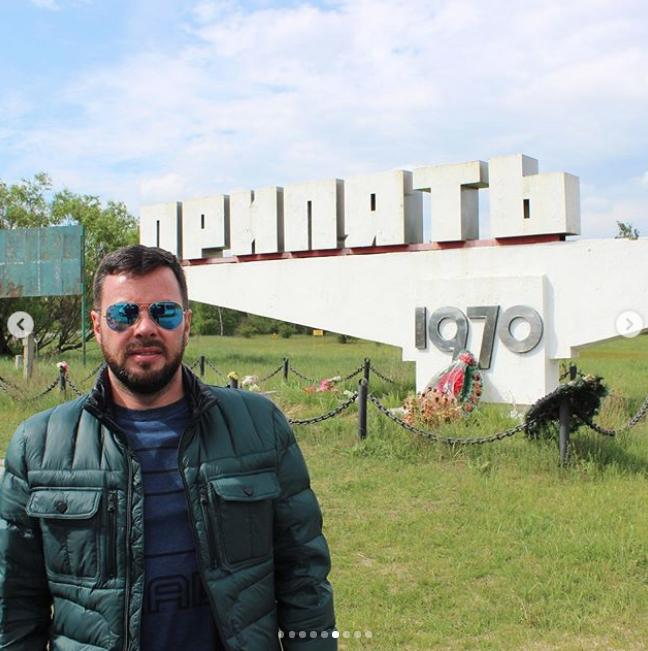 Путешественник из далёкой латиноамериканской страны Чили рассказывает своим подписчикам о возможности купить тур в Чернобыль. Фото instagram@andiviajero