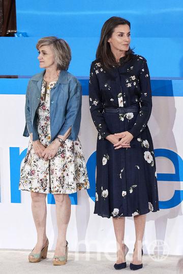 Королева Испании Летиция на мероприятии в Мадриде 11 июня. Фото Getty
