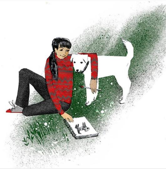 Иллюстрации Анны и Варвары Кендель. Фото www.instagram.com/kendelav