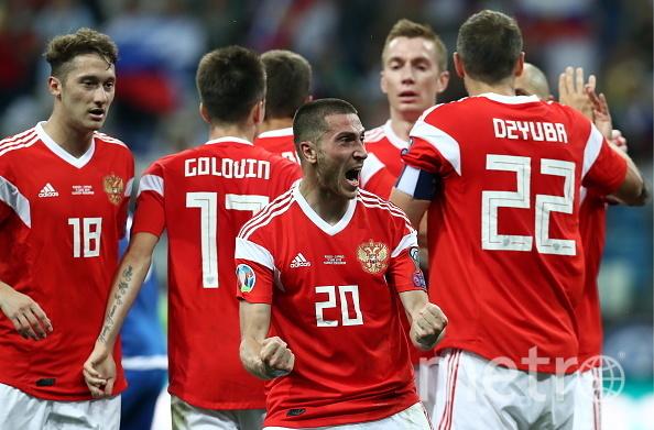 Единственный мяч забил Алексей Ионов. Фото Getty