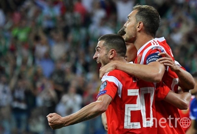 Единственный мяч забил Алексей Ионов. Фото РИА Новости