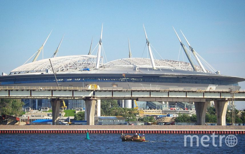 "Стадион ""Санкт-Петербург"". Фото ""Metro"""