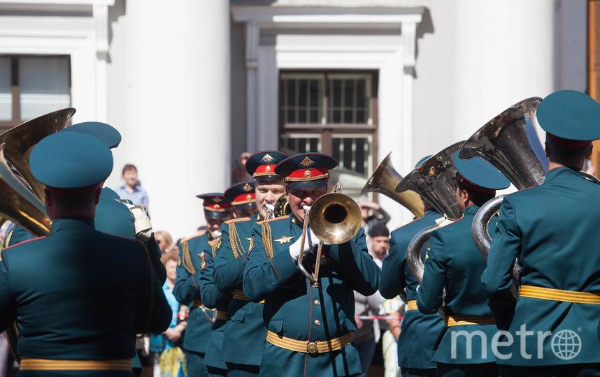 """Парад духовых оркестров. Фото Святослав Акимов, """"Metro"""""""