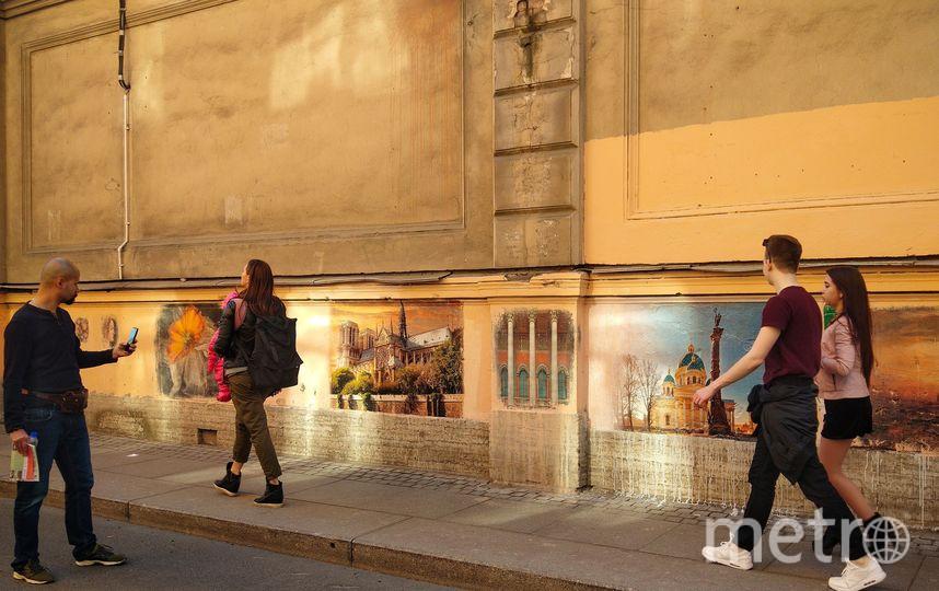 Переулок Радищева стал арт-галереей под открытым небом. Фото vk.com/olegmihalych, vk.com