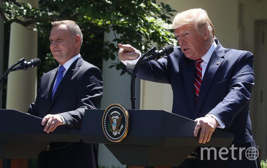 Анджей Дуда и Дональд Трамп. Фото Getty