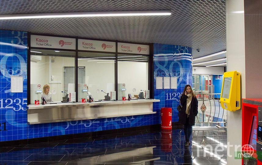 Сбой в работе автоматов по продаже билетов произошёл в метро Москвы. Фото Василий Кузьмичёнок