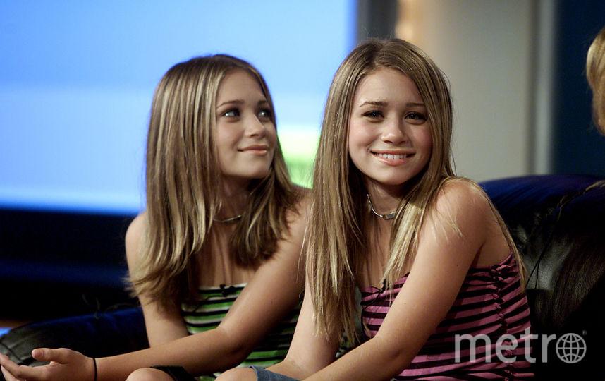 Сестры Мэри-Кейт и Эшли Олсен в детстве и юности. Фото Getty