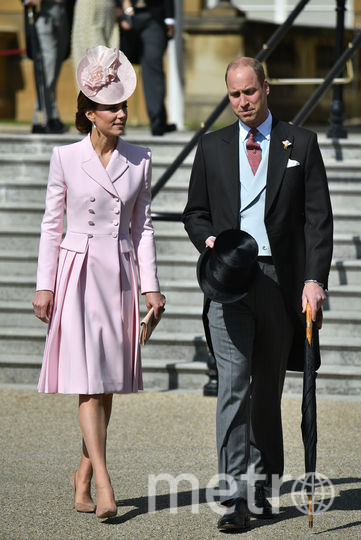 С супругой Кейт Миддлтон. Фото Getty