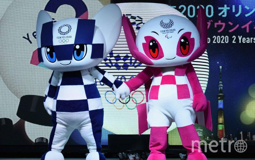 Талисманы Олимпиады в Токио. Фото Getty