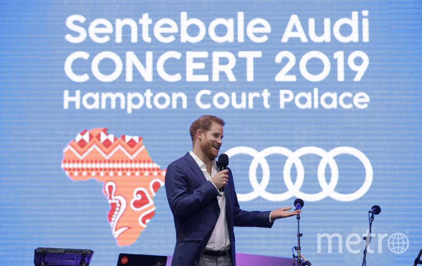 Принц Гарри выступил с речью. Фото Getty