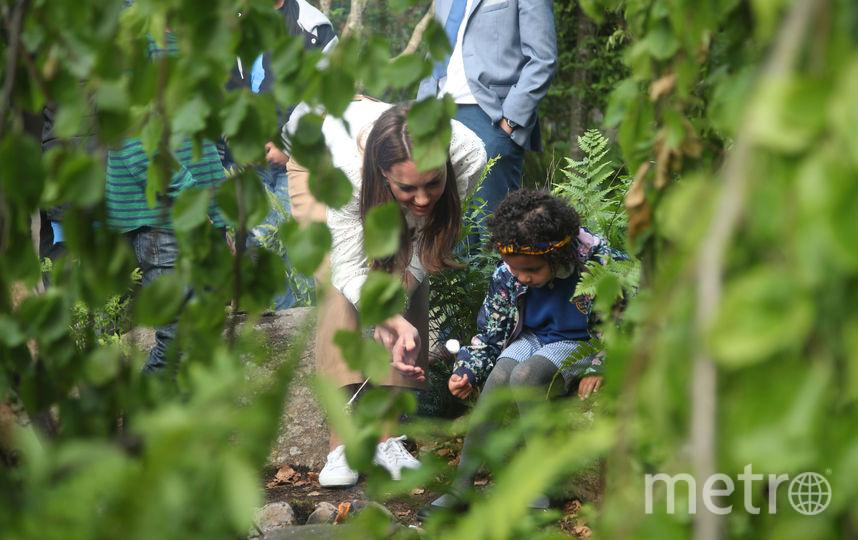Кейт Миддлтон в саду 20 мая 2019 года. Фото Getty