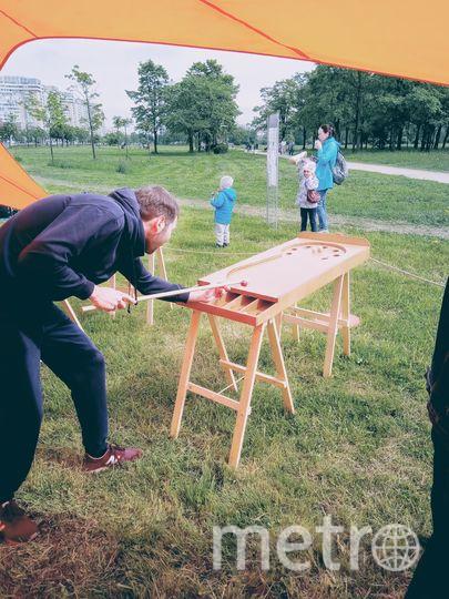 Деревянные игры вновь набирают популярность. Фото Предоставлено организаторами