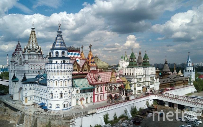 Измайловский кремль. Фото РИА Новости