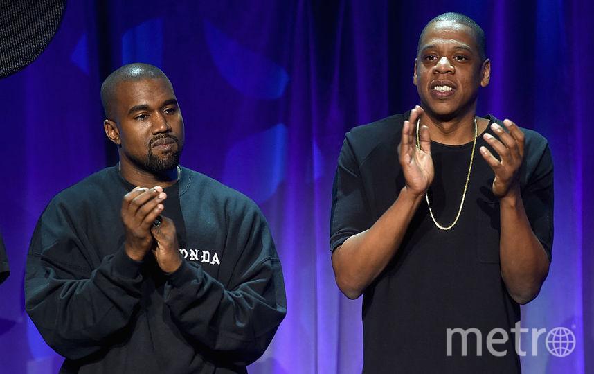 Jay-Z и Kanye West. Фото Getty