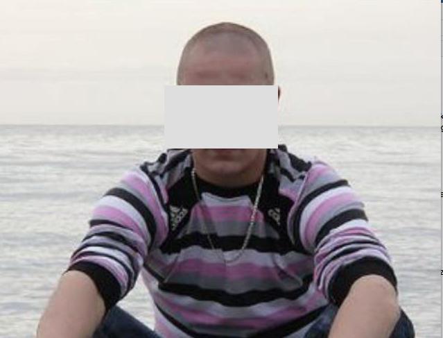 Сожитель подозреваемой. Фото VK/55mvd