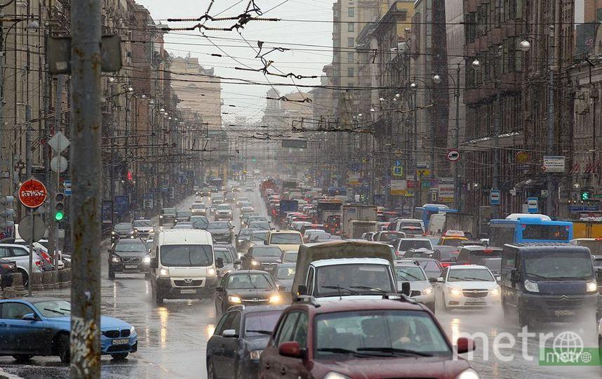 Топ-10 самых загруженных по пятницам дорог Москвы. Фото Василий Кузьмичёнок
