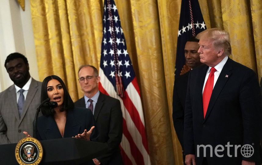 Ким Кардашьян, Дональд Трамп. Фото Getty