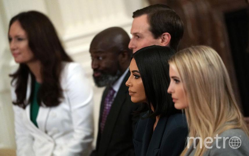 Ким Кардашьян, Иванка Трамп. Фото Getty